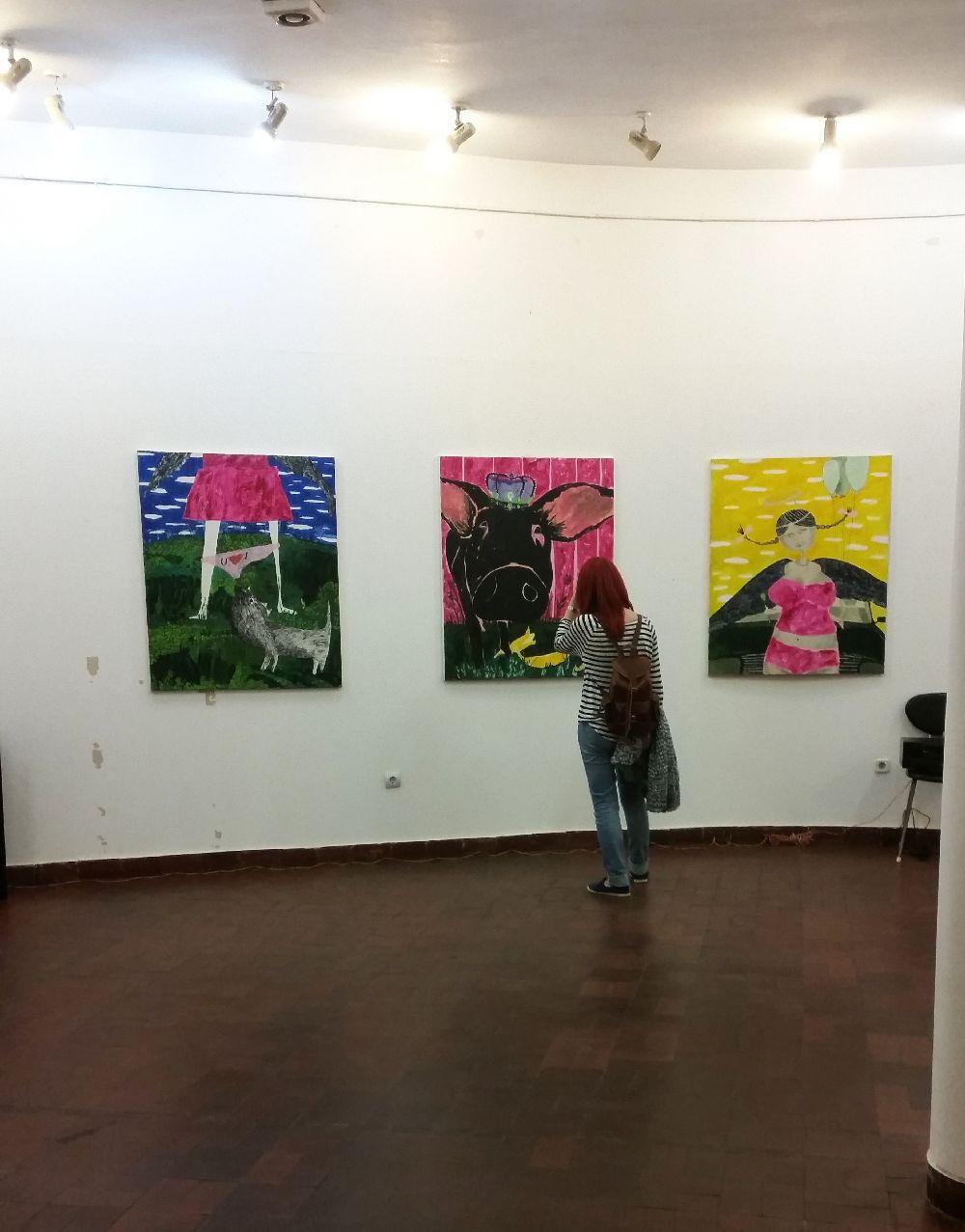 adelaparvu.com despre expozitie Orasul Aniei, artist Cristi Gaspar (2)