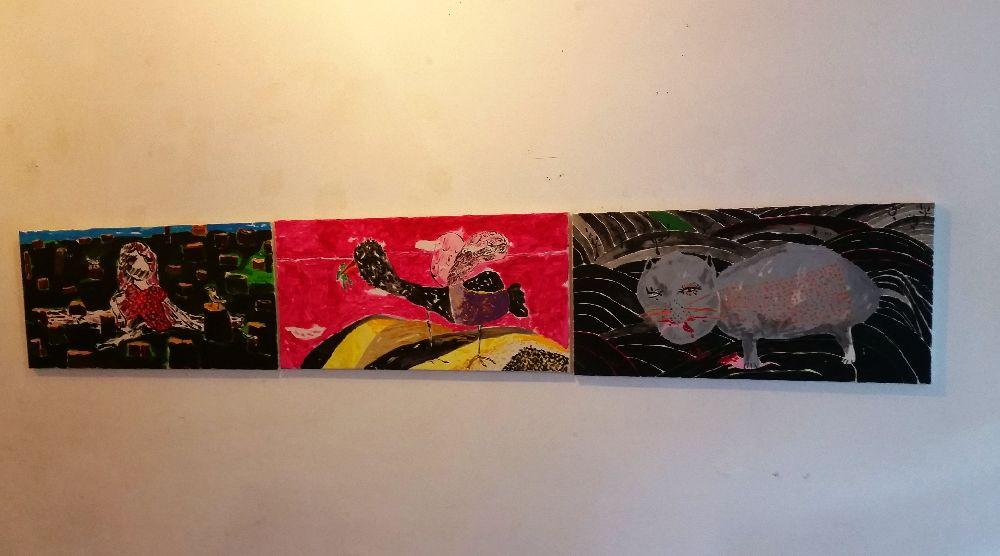 adelaparvu.com despre expozitie Orasul Aniei, artist Cristi Gaspar (21)
