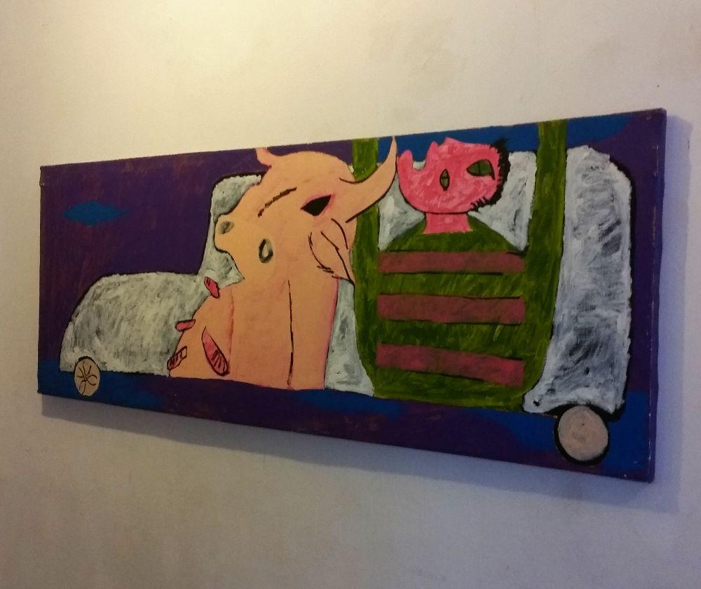 adelaparvu.com despre expozitie Orasul Aniei, artist Cristi Gaspar (22)