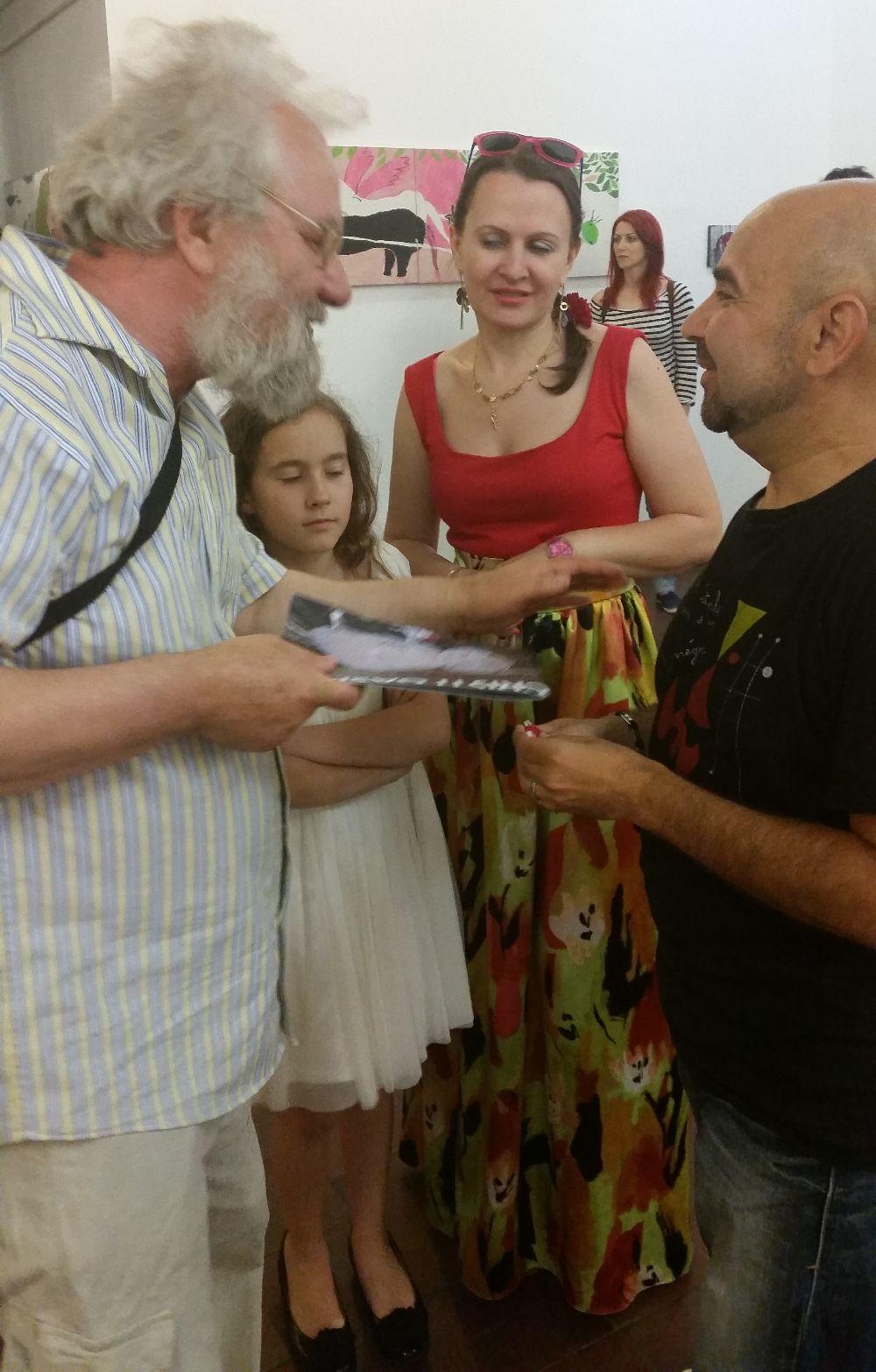 adelaparvu.com despre expozitie Orasul Aniei, artist Cristi Gaspar (27)