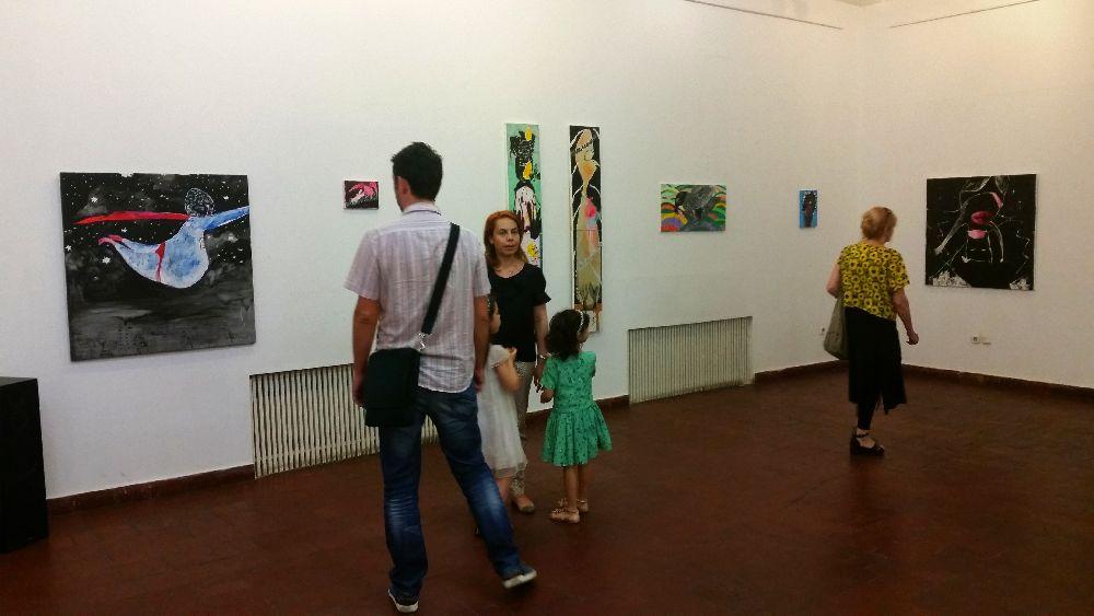adelaparvu.com despre expozitie Orasul Aniei, artist Cristi Gaspar (4)