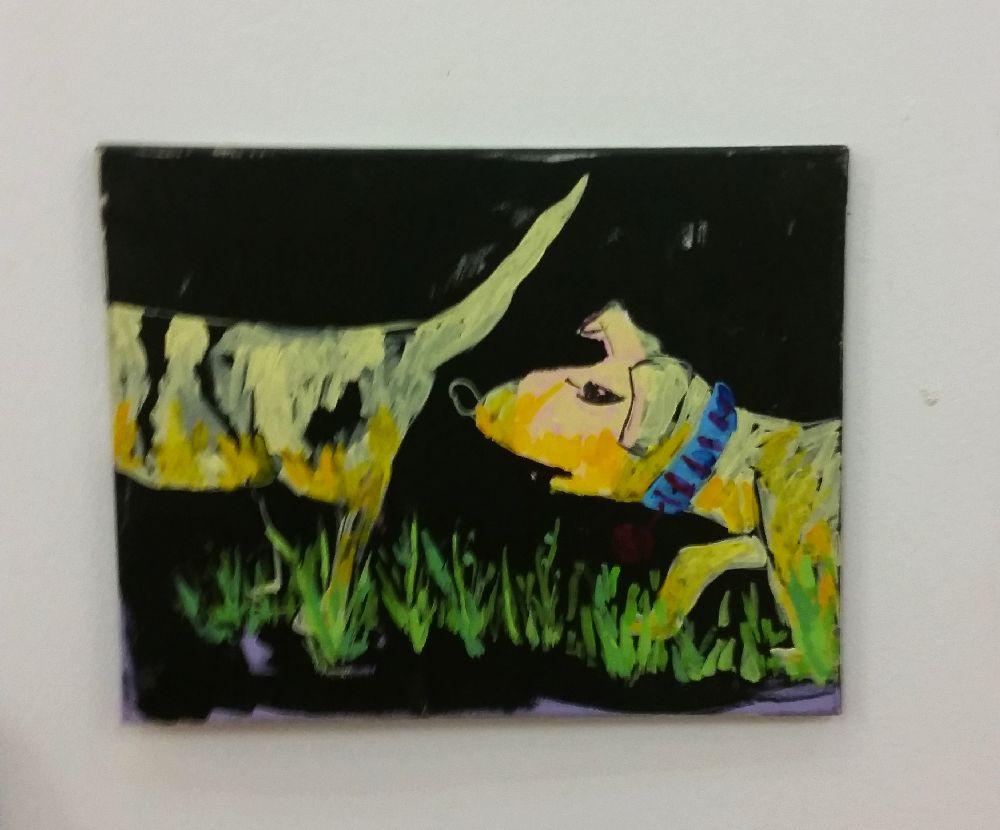 adelaparvu.com despre expozitie Orasul Aniei, artist Cristi Gaspar (5)