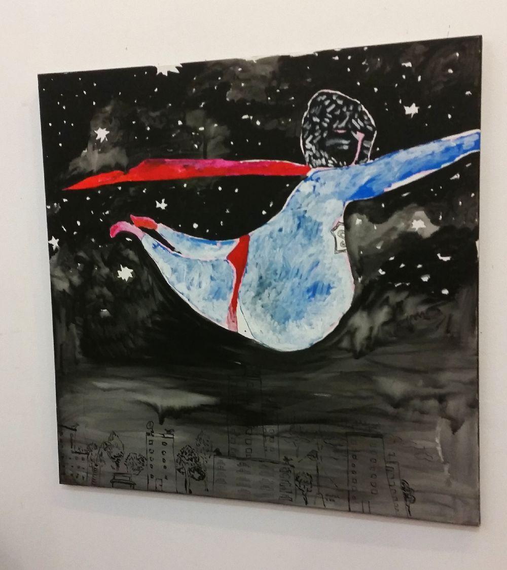 adelaparvu.com despre expozitie Orasul Aniei, artist Cristi Gaspar (7)