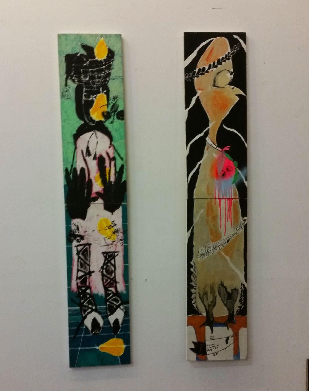 adelaparvu.com despre expozitie Orasul Aniei, artist Cristi Gaspar (8)