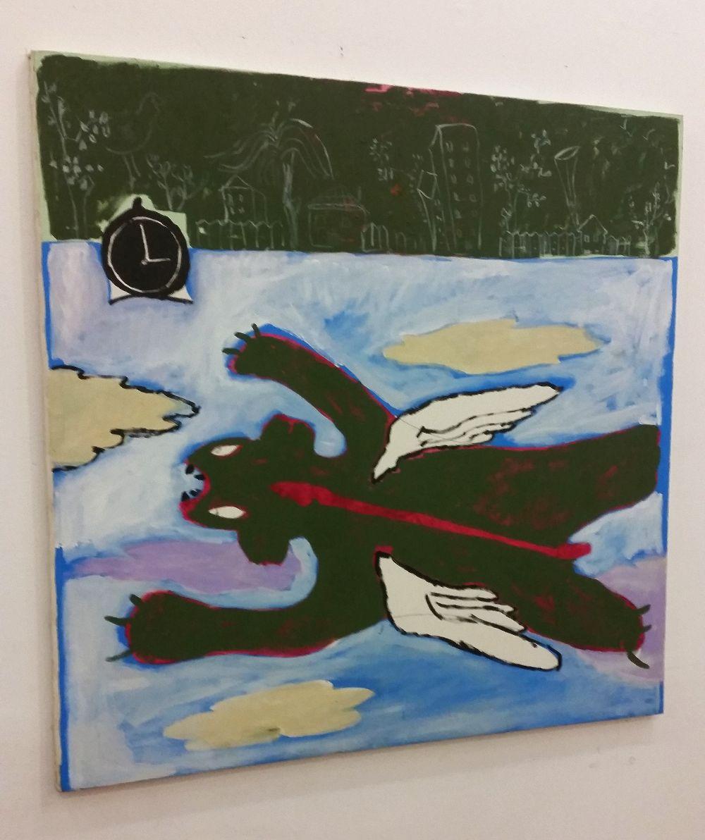 adelaparvu.com despre expozitie Orasul Aniei, artist Cristi Gaspar (9)