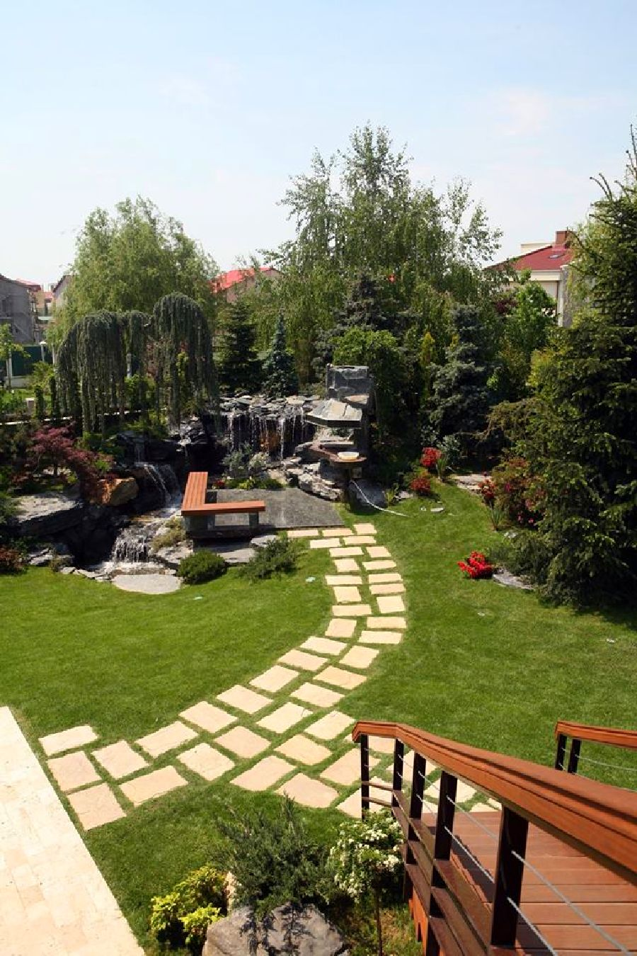 adelaparvu.com despre gradina cu zona de gratar, design arh.Dragos Isacescu (11)