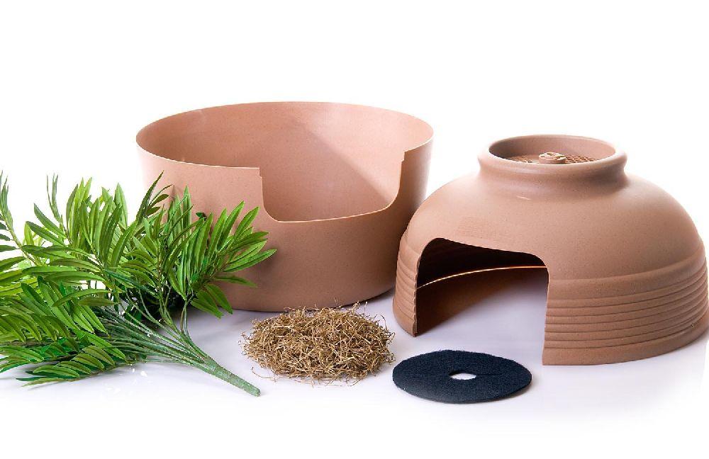 adelaparvu.com despre litiera ca un ghiveci de flori, The Hidden Litter Box, design Ron Evans (2)