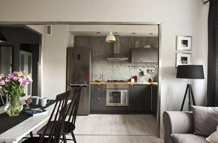 adelaparvu.com despre locuinta 36 mp, design interior Mortis Design, Joanna K. Jurga si Martyn Ochojska (4)