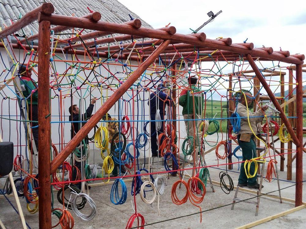 adelaparvu.com despre locuri de joaca pentru copii, instalatii joaca design Gordius Plus (19)