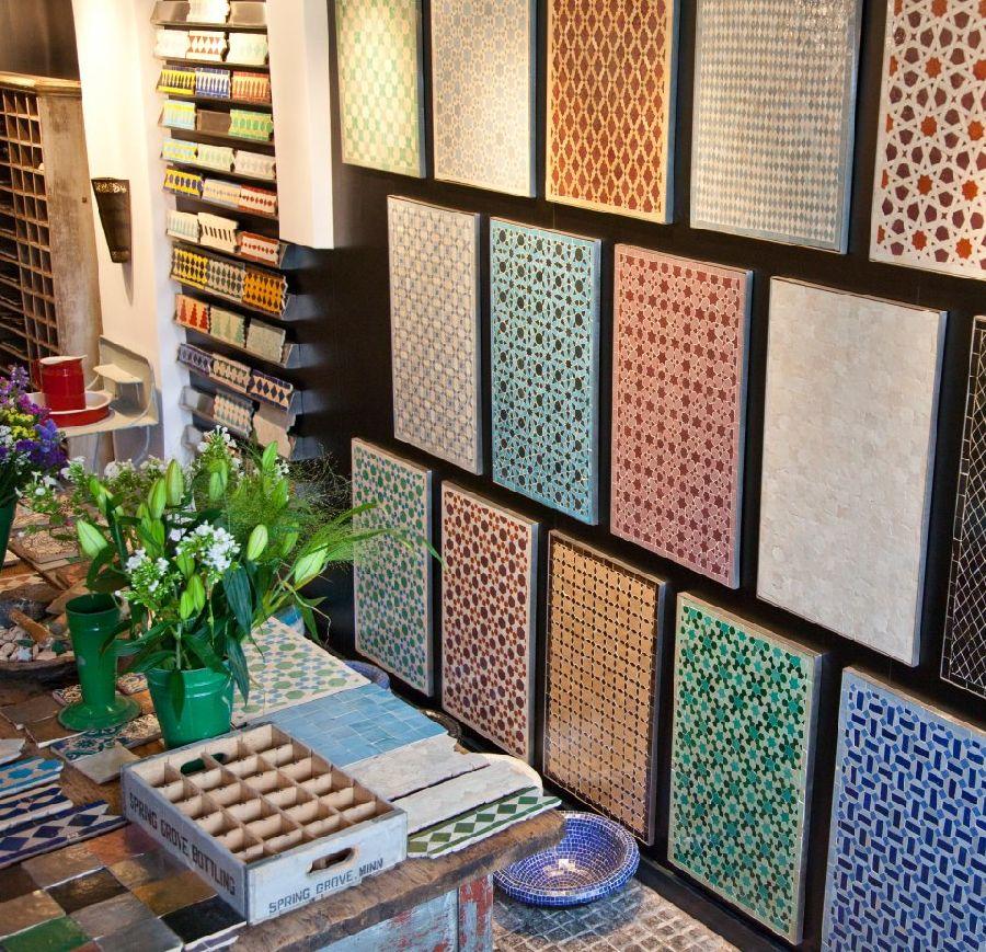 adelaparvu.com despre placi de mozaic, design Habibi Interiors (1)