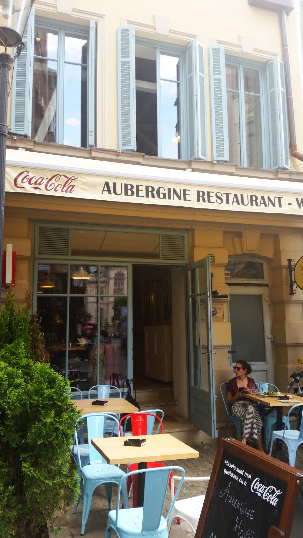 adelaparvu.com despre restaurant Aubergine, Bucuresti, design interior Corvin Cristian (1)