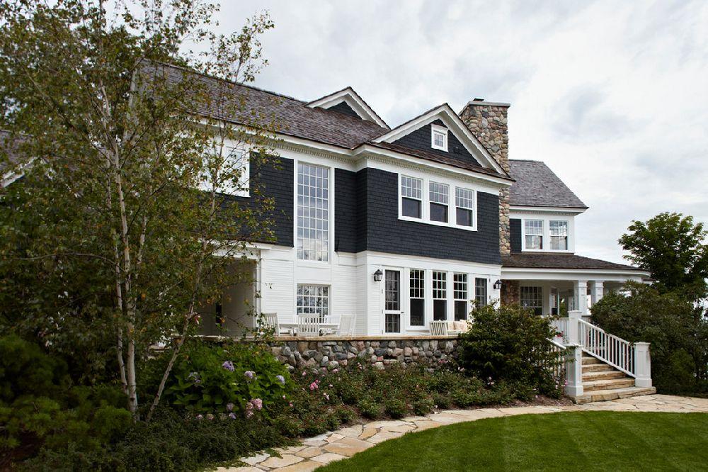 adelaparvu.com casa din lemn cu interior in nuante pastelate, casa SUA Michigan, design interior Tom Stringer, Foto Werner Straube (1)