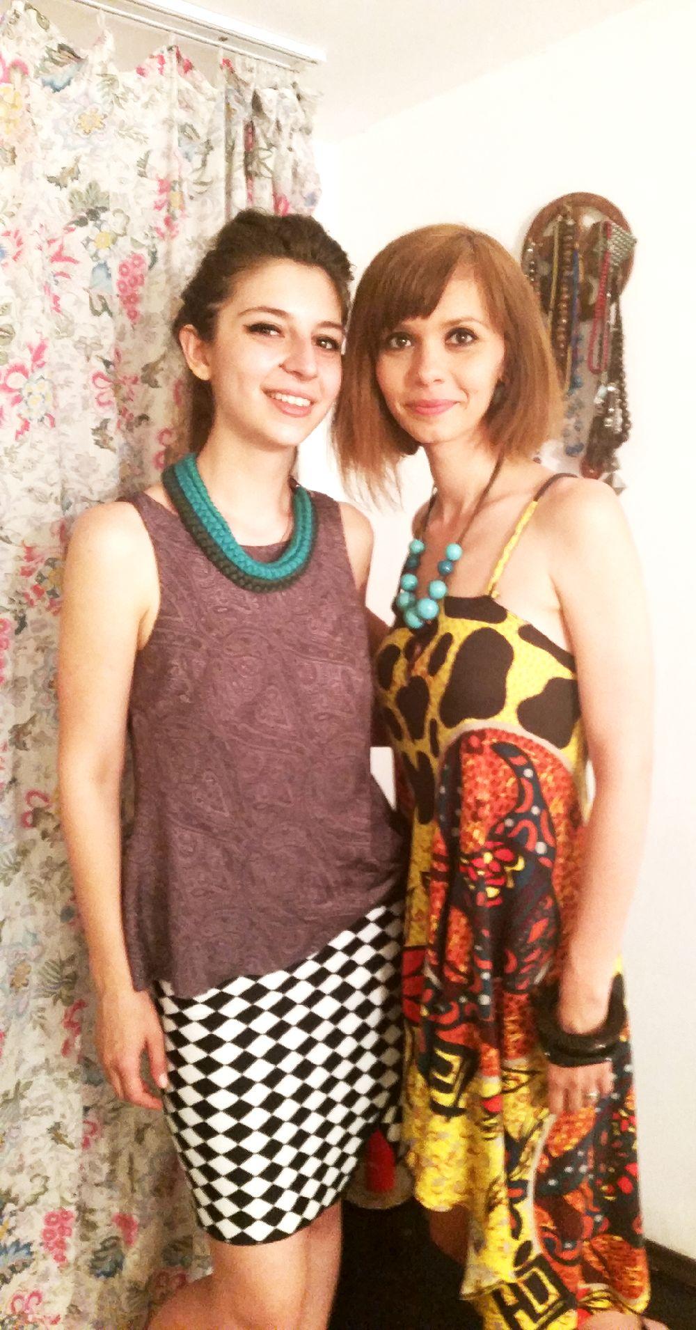 Darin alături de sora ei Lin