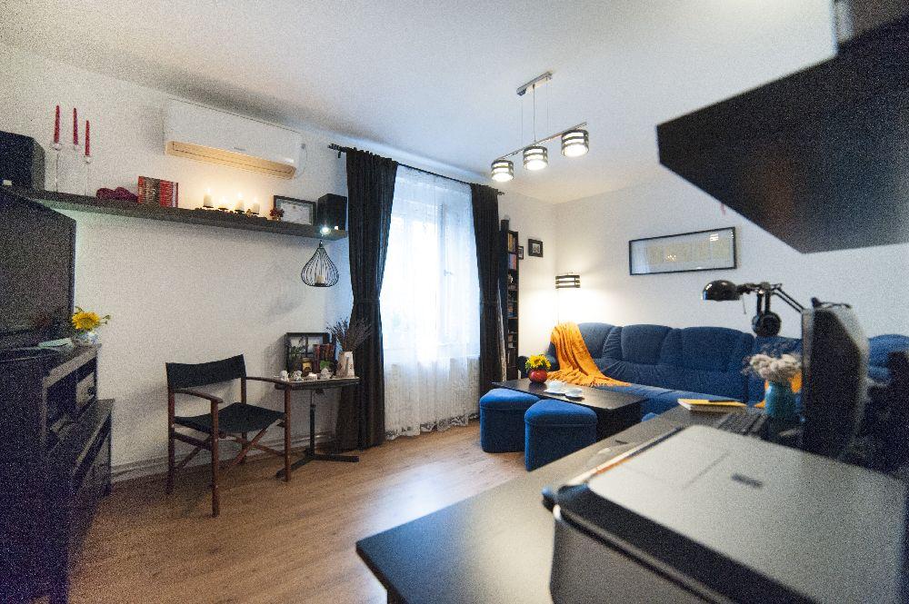 adelaparvu.com despre amenajare locuinta 3 camere, 51 mp, Bucuresti, design interior Iulia Banu, Foto Dragos Boldea (3)