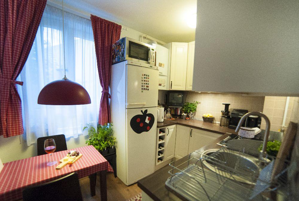 adelaparvu.com despre amenajare locuinta 3 camere, 51 mp, Bucuresti, design interior Iulia Banu, Foto Dragos Boldea (5)