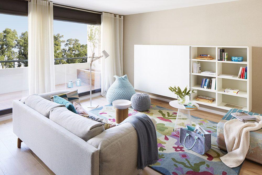 adelaparvu.com despre apartament cu aer mediteranean, design interior Meritxell Ribe (1)