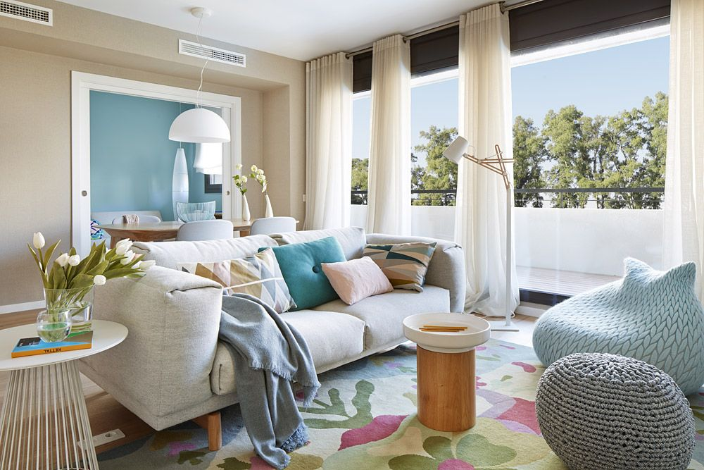 adelaparvu.com despre apartament cu aer mediteranean, design interior Meritxell Ribe (2)