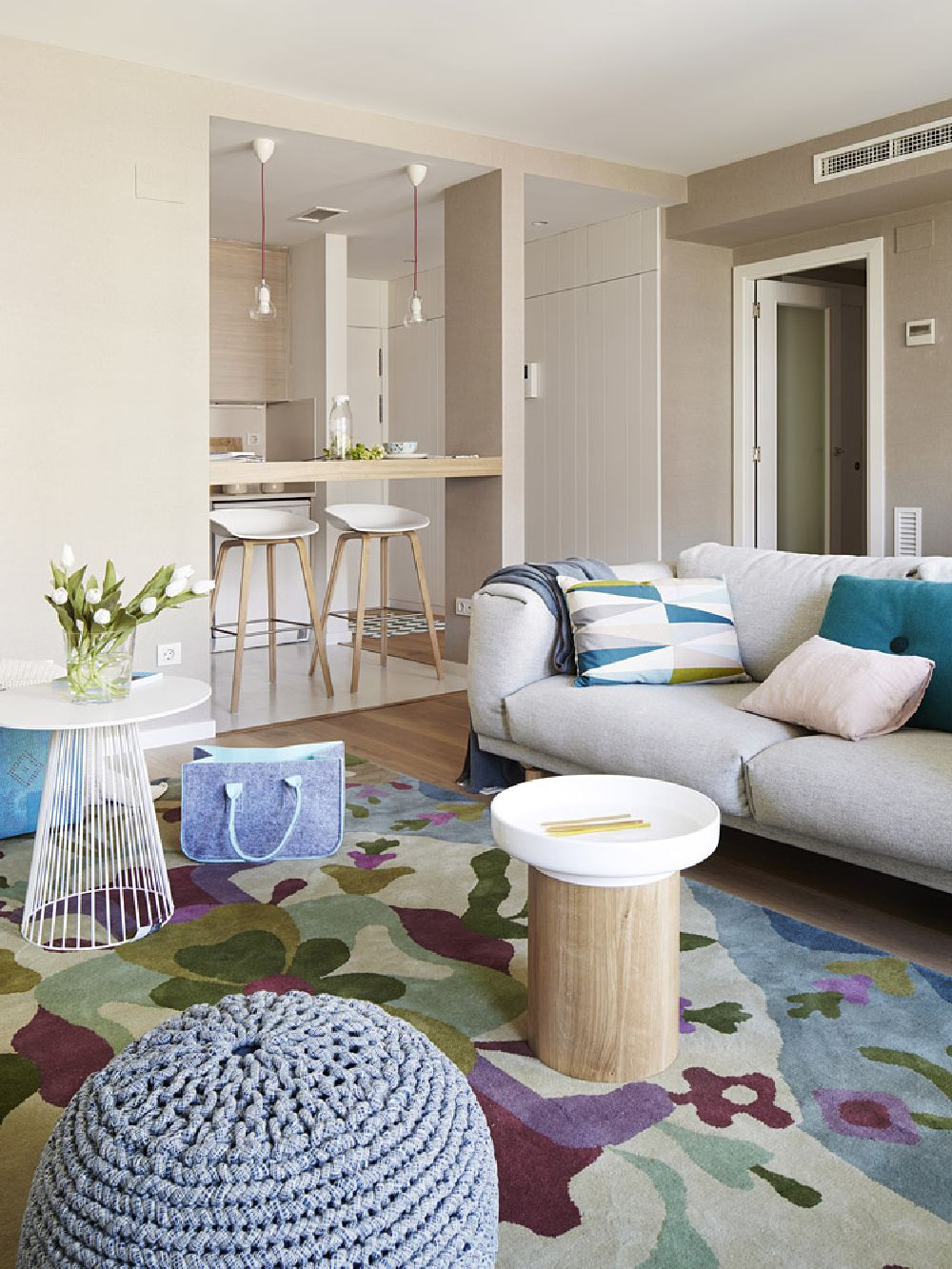 adelaparvu.com despre apartament cu aer mediteranean, design interior Meritxell Ribe (3)