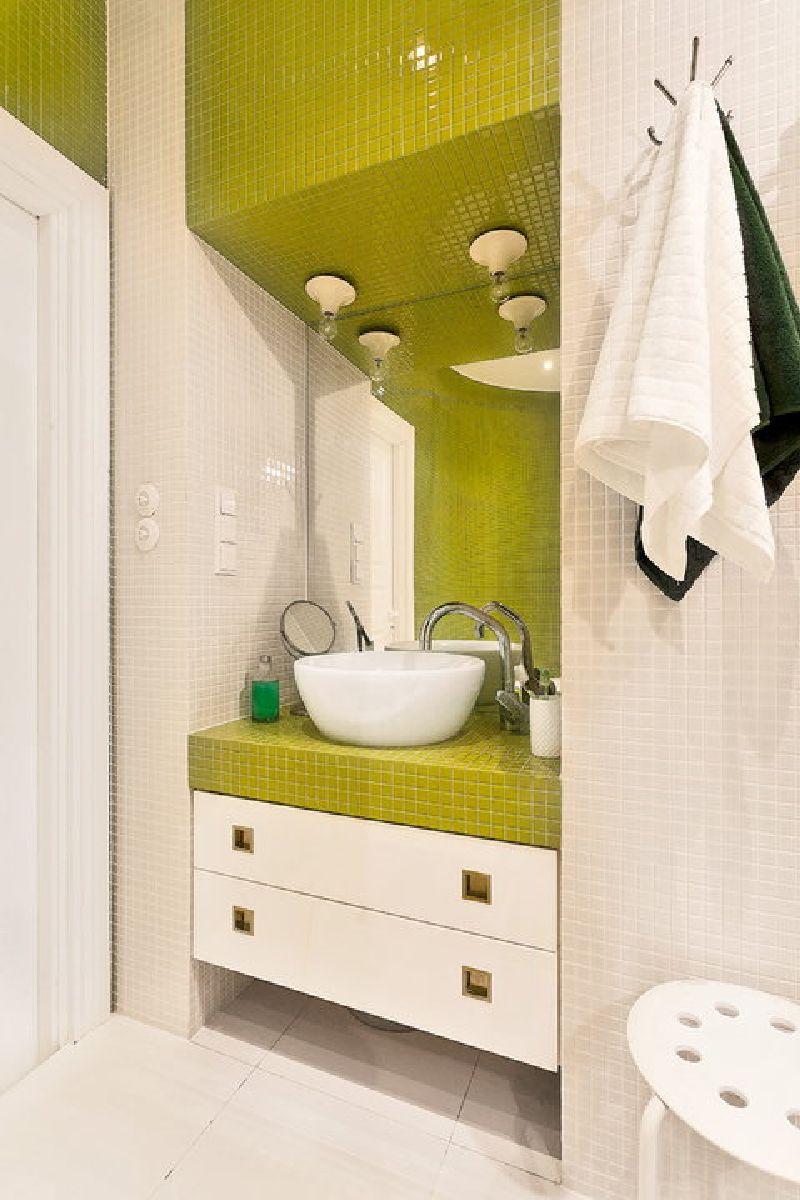 adelaparvu.com despre apartament mic si colorat, design interior Agata Debicka Cieszynska, Twin Pigs  (15)