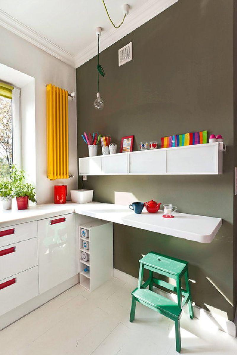 adelaparvu.com despre apartament mic si colorat, design interior Agata Debicka Cieszynska, Twin Pigs  (17)