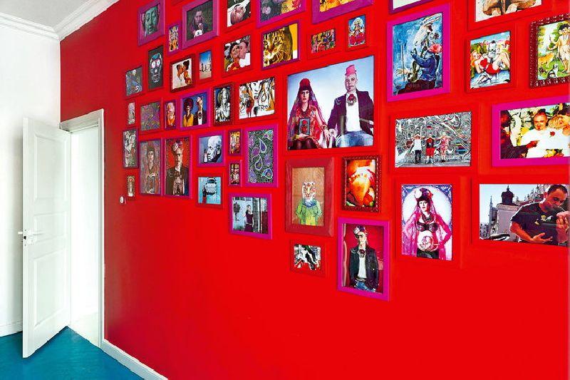 adelaparvu.com despre apartament mic si colorat, design interior Agata Debicka Cieszynska, Twin Pigs  (5)