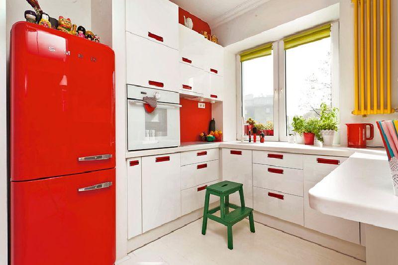 adelaparvu.com despre apartament mic si colorat, design interior Agata Debicka Cieszynska, Twin Pigs  (7)
