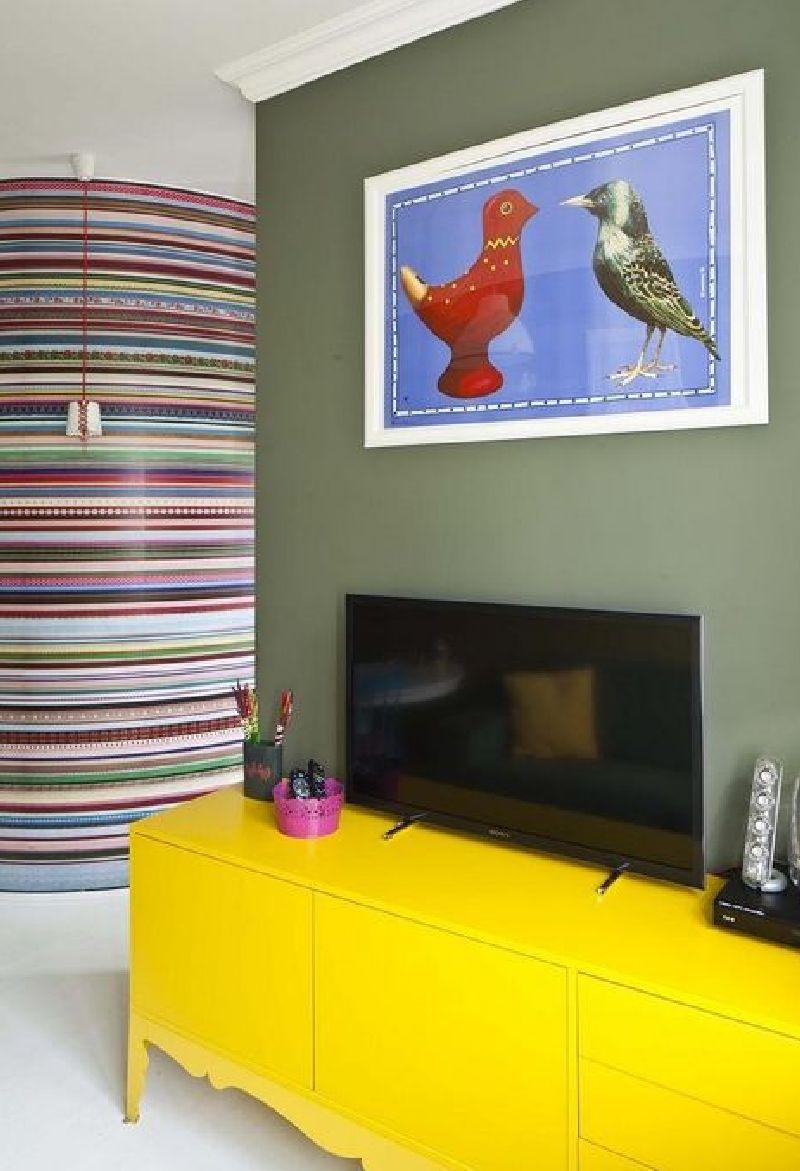 adelaparvu.com despre apartament mic si colorat, design interior Agata Debicka Cieszynska, Twin Pigs  (8)