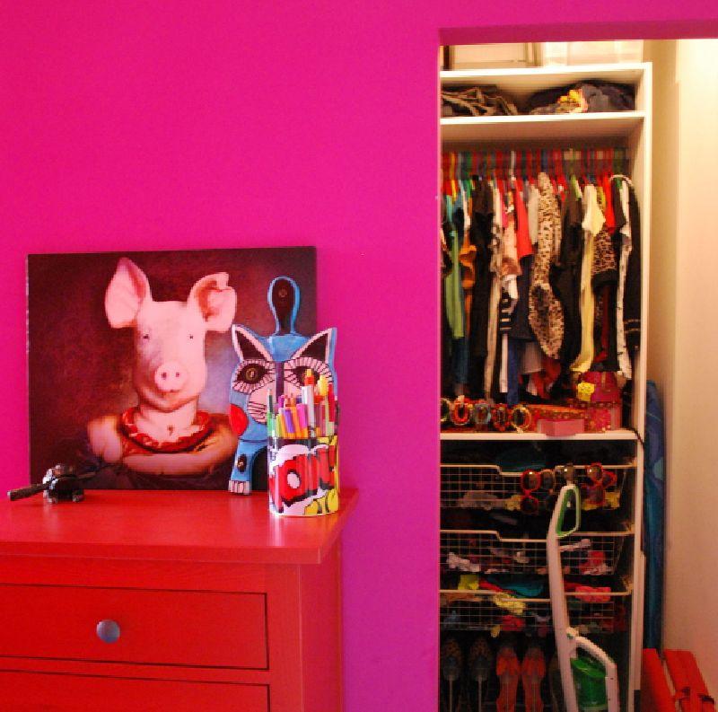 adelaparvu.com despre apartament mic si colorat, design interior Agata Debicka Cieszynska, Twin Pigs  (9)