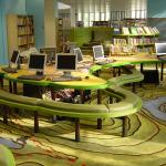 adelaparvu.com despre biblioteca pentru copii, Swiss Cottage Library London, design artist laura Ford, Foto Modus Operandi (1)