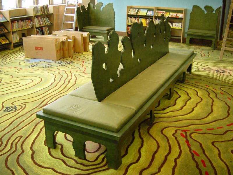 adelaparvu.com despre biblioteca pentru copii, Swiss Cottage Library London, design artist laura Ford, Foto Modus Operandi (2)
