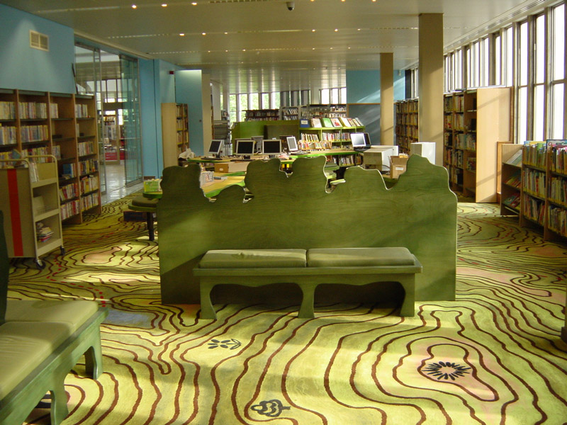 adelaparvu.com despre biblioteca pentru copii, Swiss Cottage Library London, design artist laura Ford, Foto Modus Operandi (3)