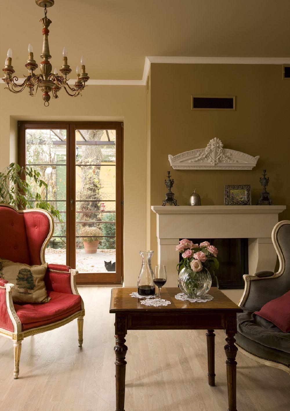 adelaparvu.com despre casa in stil francez cu accente contemporane, design interior, design Mortis Design (3)