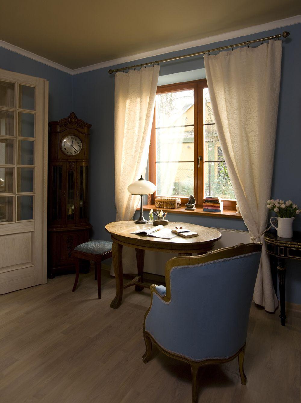 adelaparvu.com despre casa in stil francez cu accente contemporane, design interior, design Mortis Design (4)