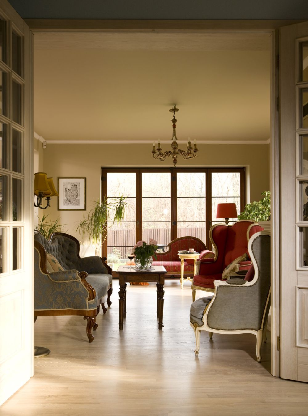 adelaparvu.com despre casa in stil francez cu accente contemporane, design interior, design Mortis Design (5)