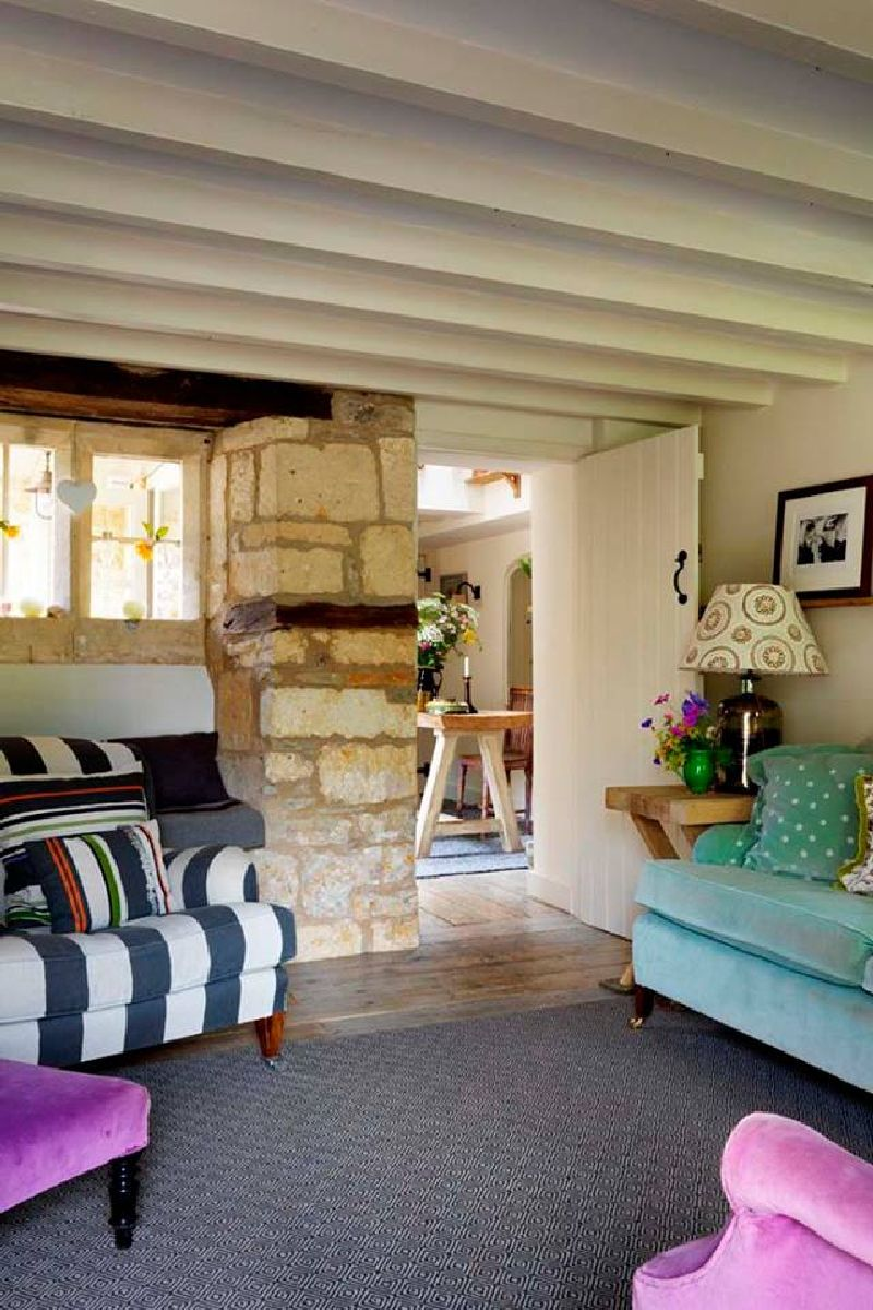 adelaparvu.com despre casa rustica, casa Marea Britanie, Cotswolds, design interior Caroline Holdaway, Foto Simon Brown (1)