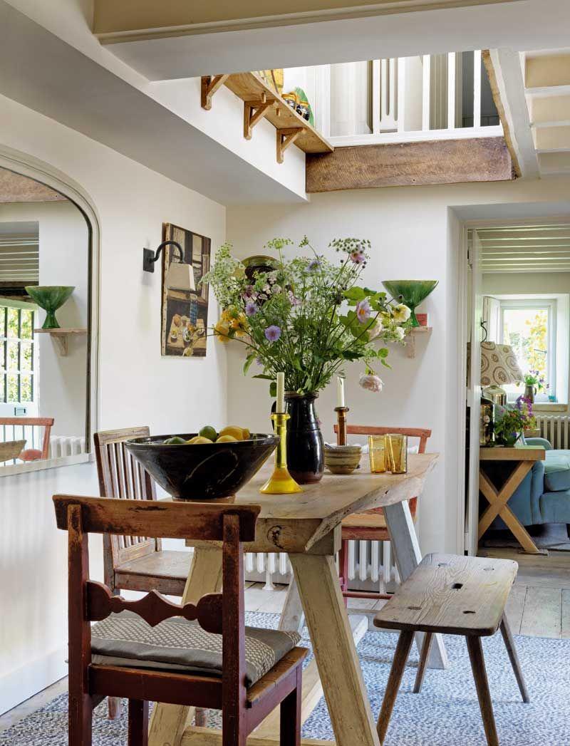 adelaparvu.com despre casa rustica, casa Marea Britanie, Cotswolds, design interior Caroline Holdaway, Foto Simon Brown (15)