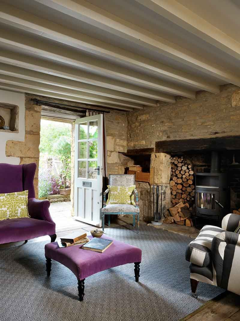 adelaparvu.com despre casa rustica, casa Marea Britanie, Cotswolds, design interior Caroline Holdaway, Foto Simon Brown (16)