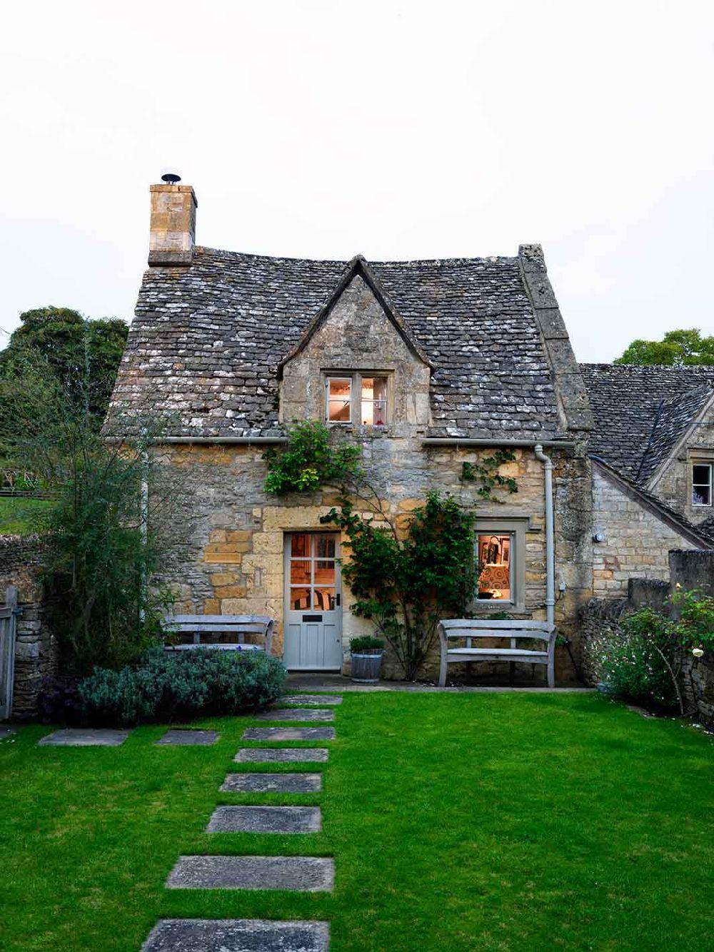 adelaparvu.com despre casa rustica, casa Marea Britanie, Cotswolds, design interior Caroline Holdaway, Foto Simon Brown (21)
