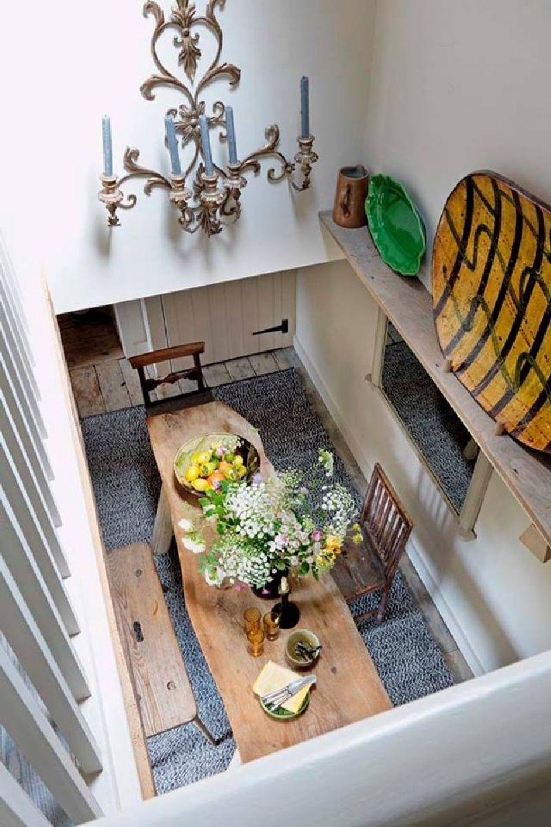 adelaparvu.com despre casa rustica, casa Marea Britanie, Cotswolds, design interior Caroline Holdaway, Foto Simon Brown (6)