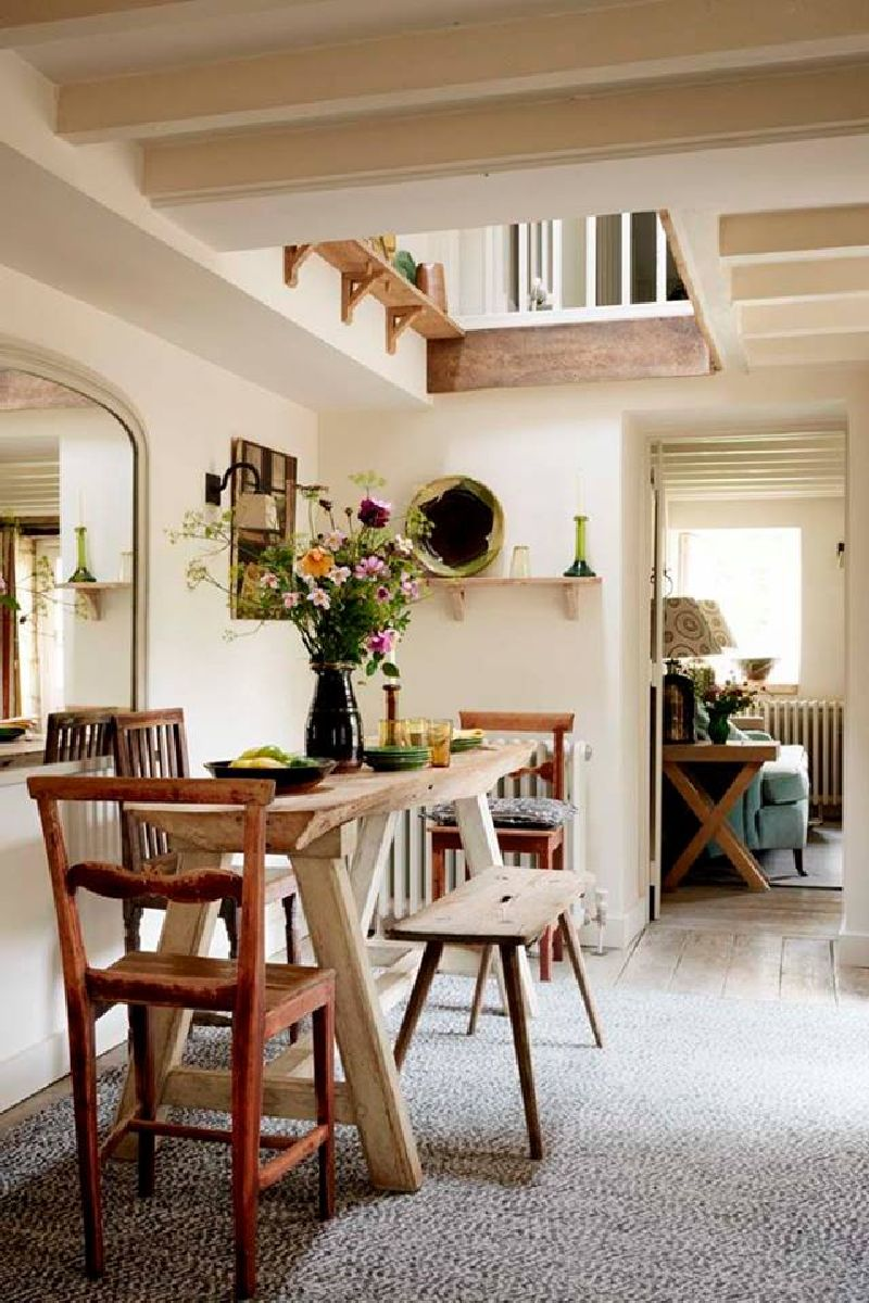 adelaparvu.com despre casa rustica, casa Marea Britanie, Cotswolds, design interior Caroline Holdaway, Foto Simon Brown (9)