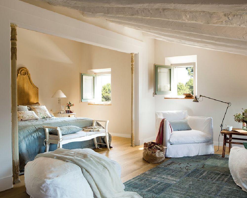 adelaparvu.com despre casa rustica catalana cu interior elegant decorat, design interior Gemma Mateos, Foto ElMueble (13)