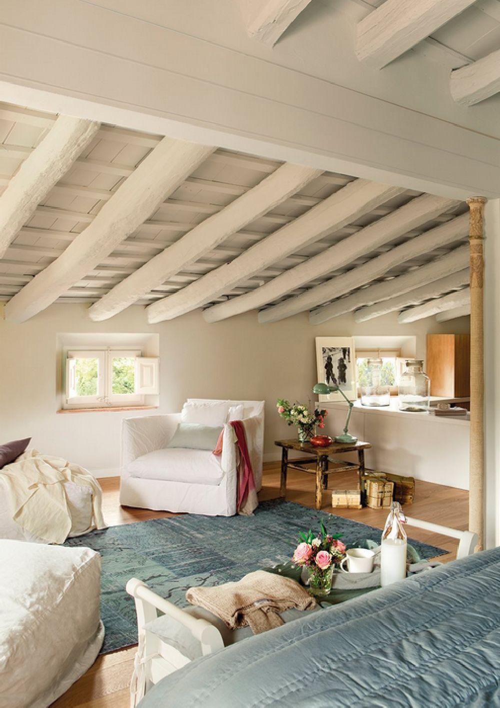adelaparvu.com despre casa rustica catalana cu interior elegant decorat, design interior Gemma Mateos, Foto ElMueble (14)