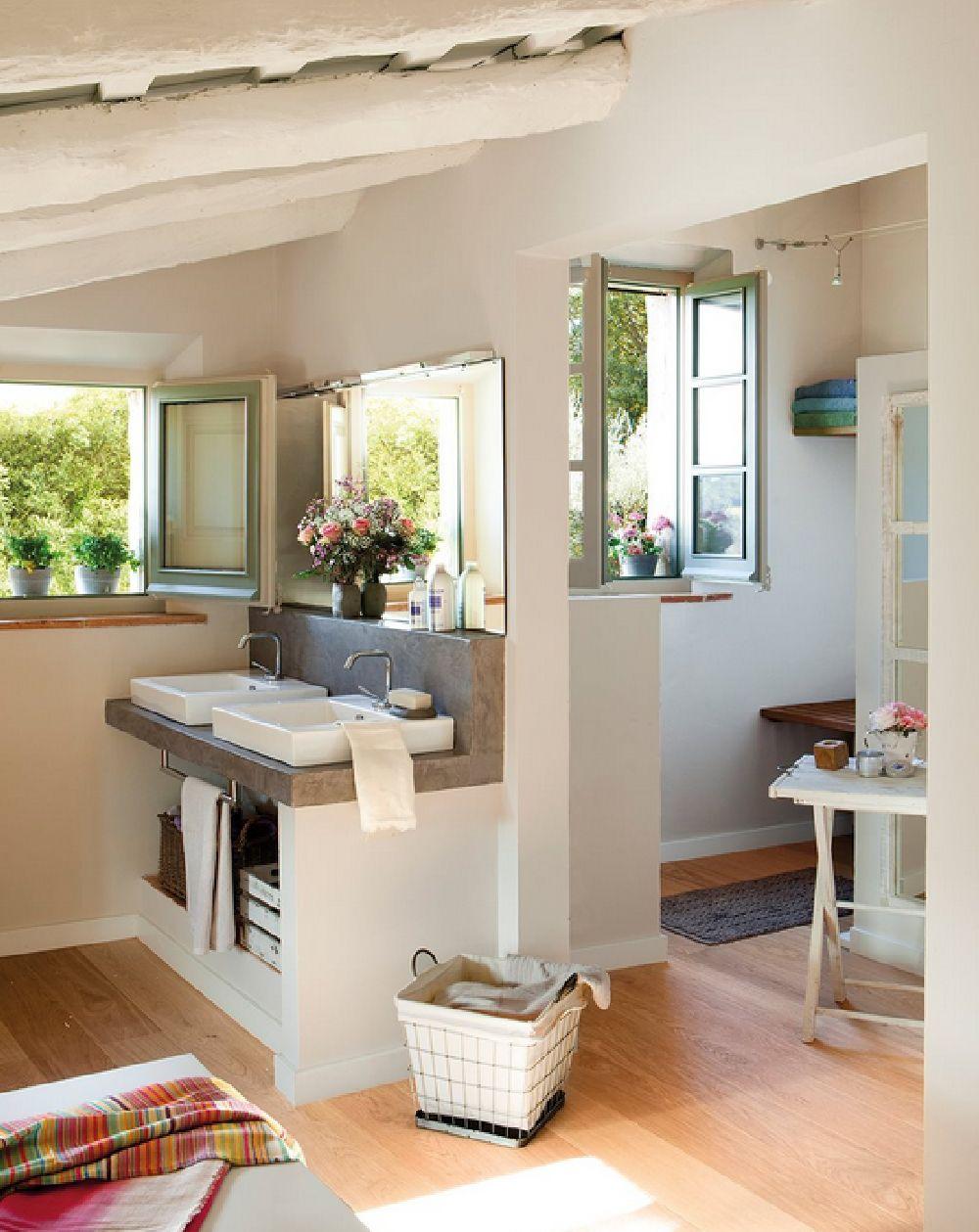 adelaparvu.com despre casa rustica catalana cu interior elegant decorat, design interior Gemma Mateos, Foto ElMueble (16)