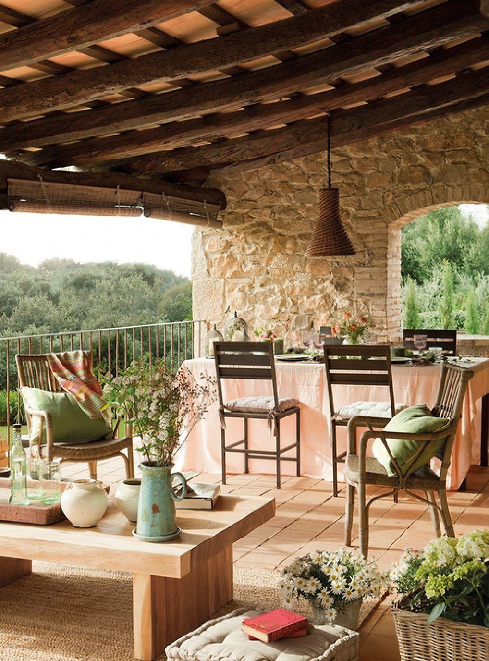 adelaparvu.com despre casa rustica catalana cu interior elegant decorat, design interior Gemma Mateos, Foto ElMueble (3)