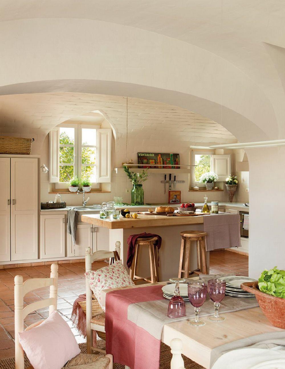 adelaparvu.com despre casa rustica catalana cu interior elegant decorat, design interior Gemma Mateos, Foto ElMueble (7)