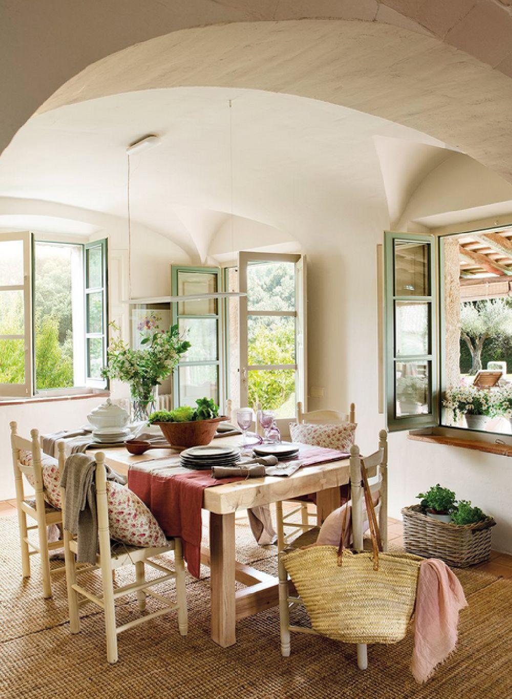 adelaparvu.com despre casa rustica catalana cu interior elegant decorat, design interior Gemma Mateos, Foto ElMueble (8)