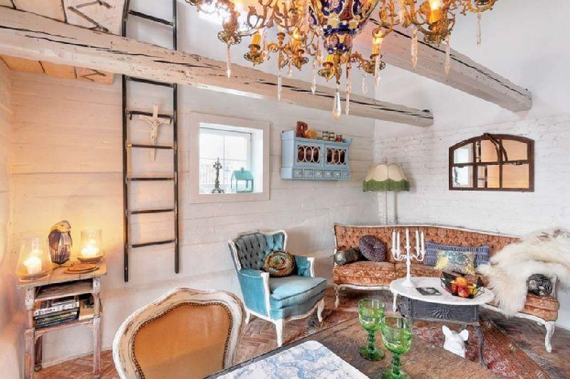 adelaparvu.com despre casa rustica cu interior clasic, arhitect Mateusz Trojanowski, Foto Radek Wojnar, Weranda Country  (1)