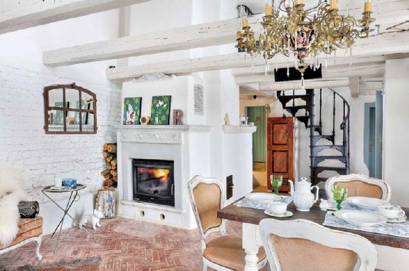 adelaparvu.com despre casa rustica cu interior clasic, arhitect Mateusz Trojanowski, Foto Radek Wojnar, Weranda Country  (15)