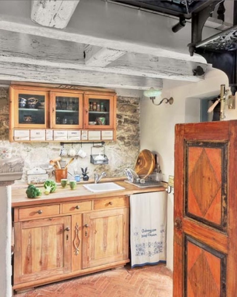 adelaparvu.com despre casa rustica cu interior clasic, arhitect Mateusz Trojanowski, Foto Radek Wojnar, Weranda Country  (4)