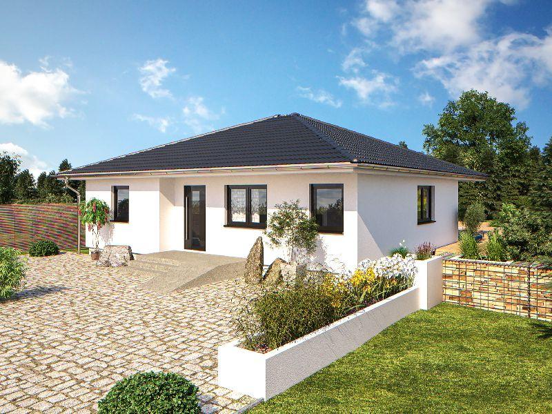 Model casa Top Star 107, Suprafata 116 mp, 3 camere, Proiect Hanlo